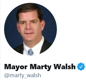 Twitter - Mayor Marty Walsh